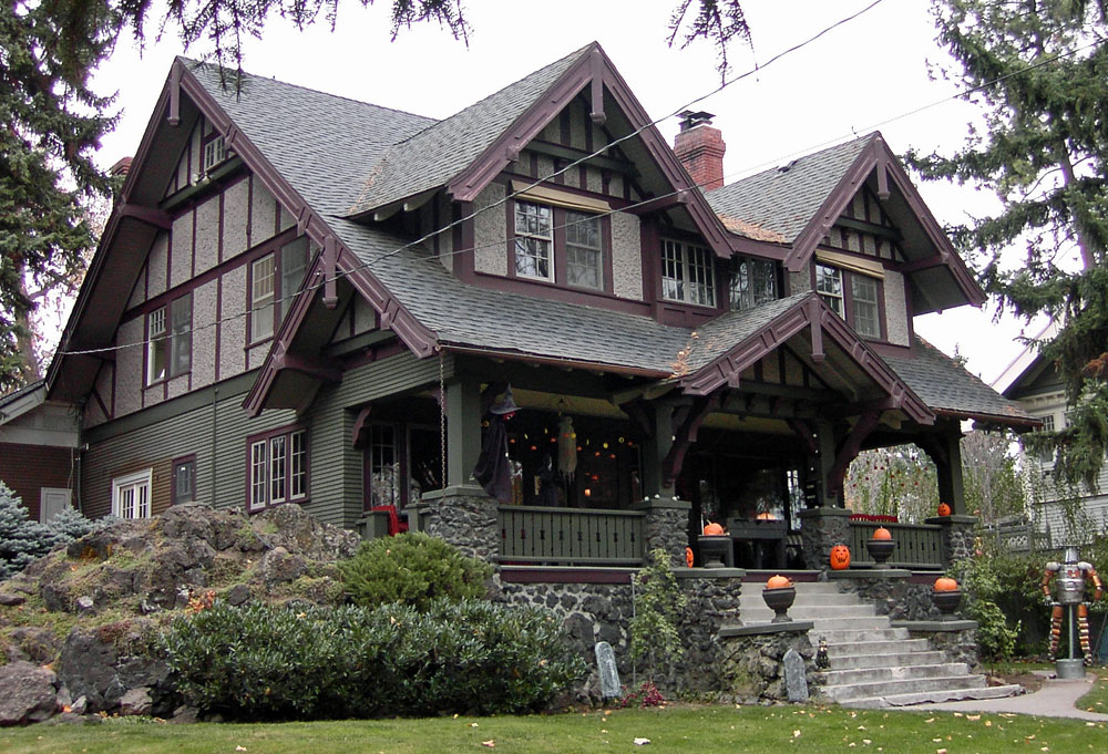 Inspiring craftsman architectural style photo home plans for Lawrence custom homes spokane