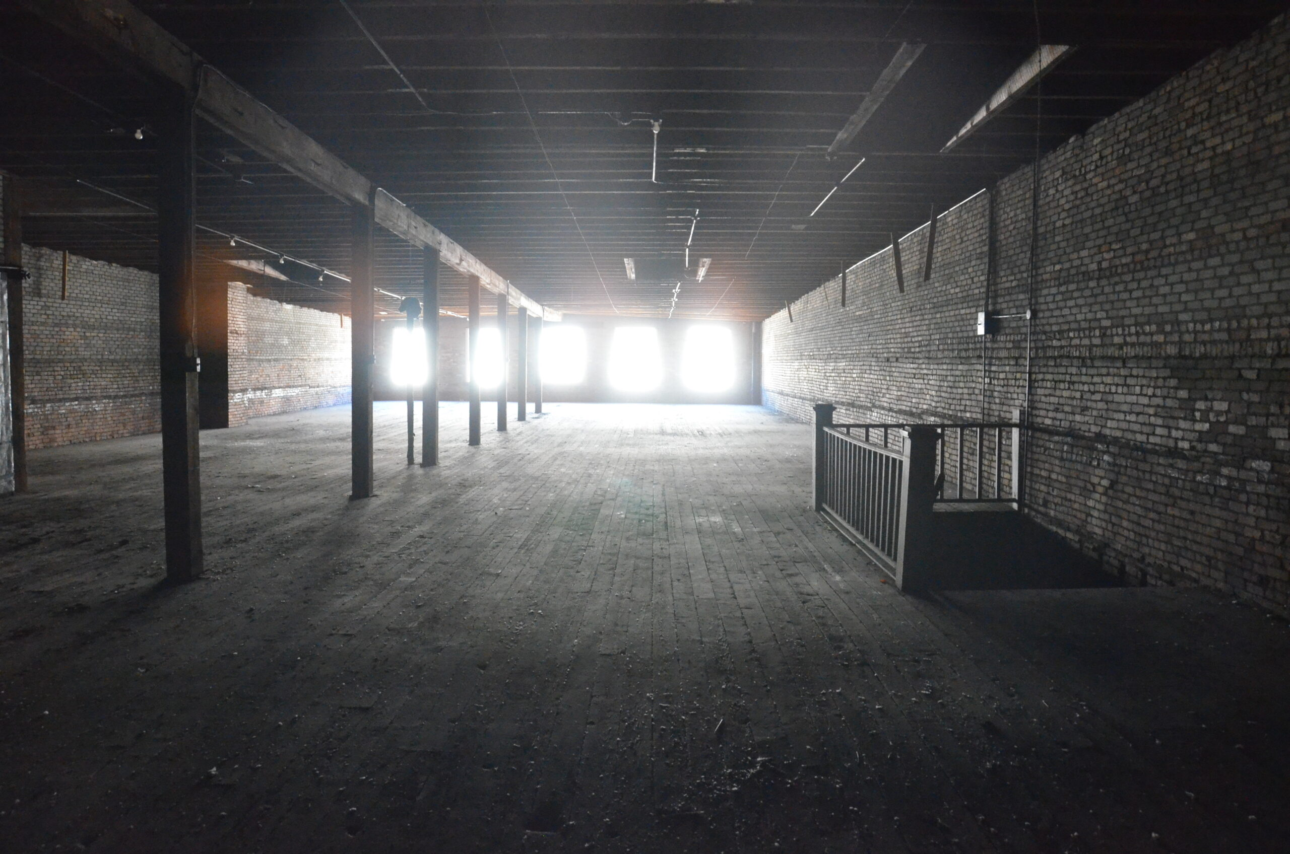 11. Fourth floor – looking north (toward front)