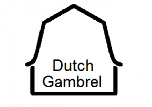 dutch gambrel with name 26