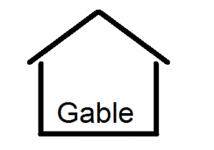 gable with name