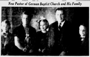 Rev. N. A. Christensen and Family