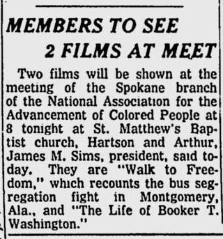 spokane daily chronicle, march 25, 1957