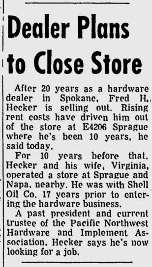 spokane daily chronicle, may 9 1969