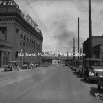 Post Street looking North 1930