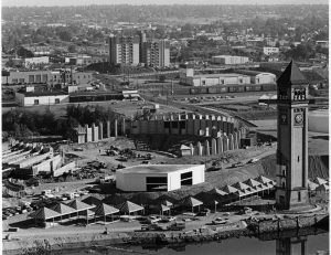 Construction of Expo 74