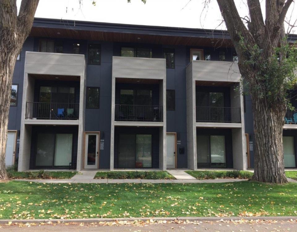 Chestnut facade middle