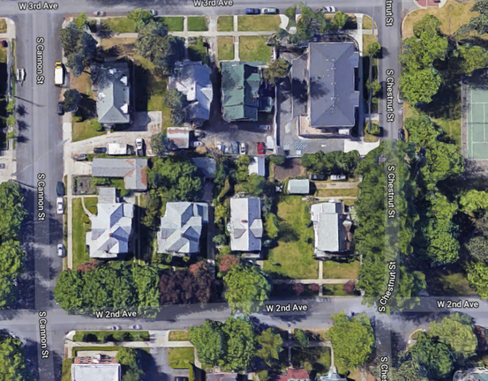 East of park aerial