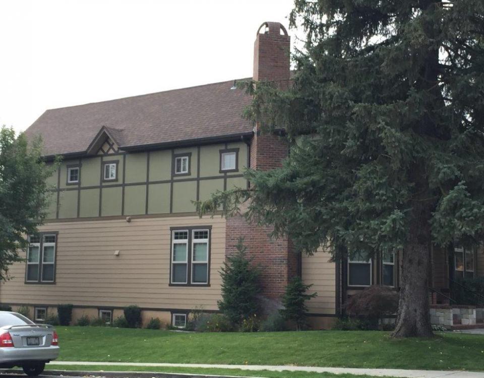 east elevation, northeast building